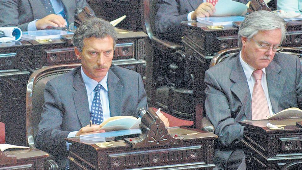 """""""Si no te aburre una sesión del Congreso, sos un anormal"""", decía Macri mientras era diputado."""