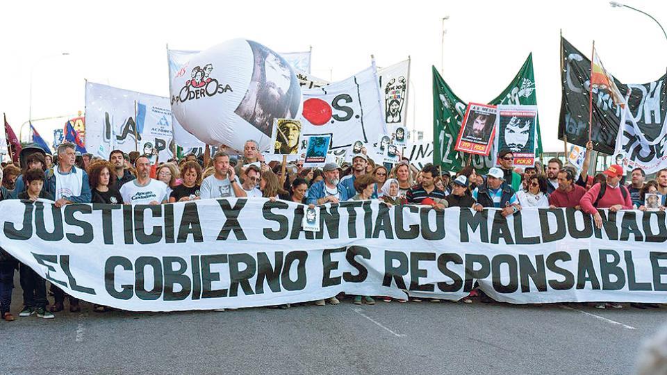 """""""La investigación no ha sido efectiva ni imparcial"""", denunció Sergio Maldonado."""