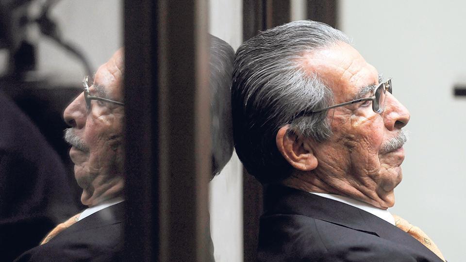 El 10 de mayo de 2013 Ríos Montt fue encontrado culpable de genocidio y delitos de lesa humanidad.
