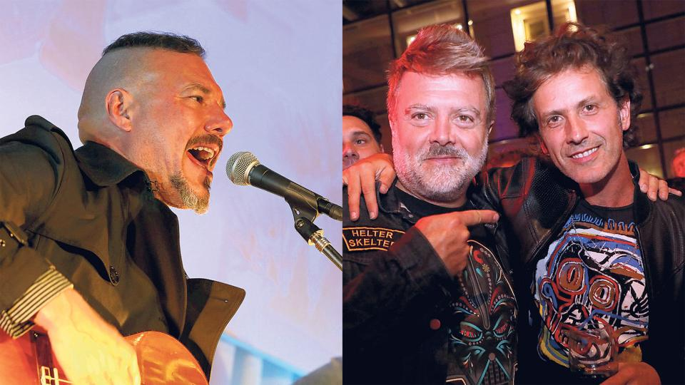 Vanthra dio un show sorpresa y será parte del Wine Rock. Juanchi Baleirón y Coti tienen sus propias marcas de vino.