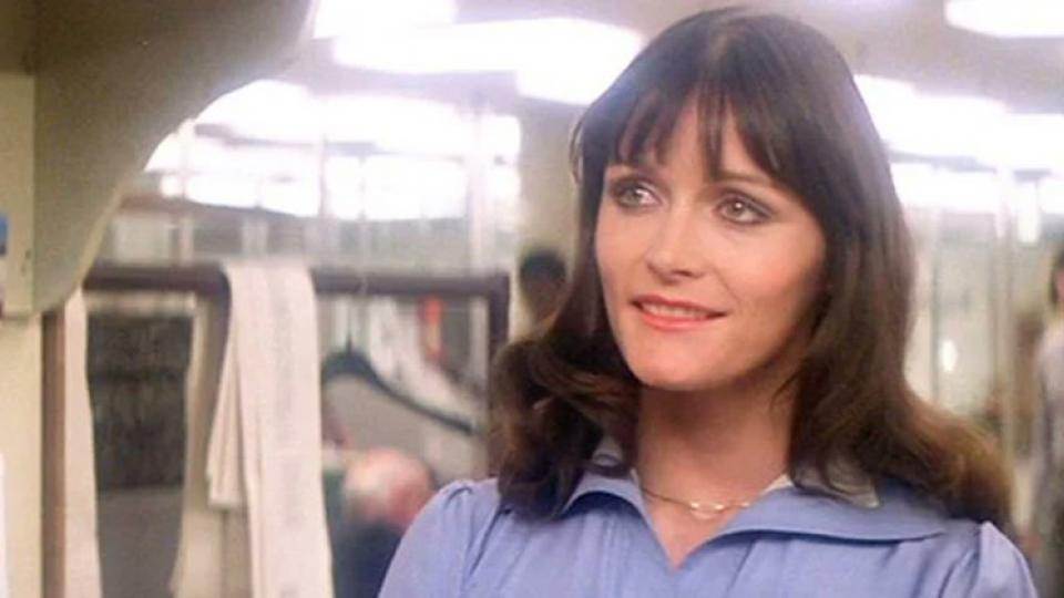 Kidder como Luisa Lane en Superman, en 1978.