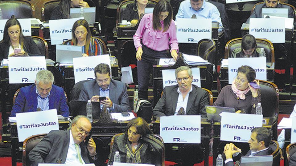 La sesión en la Cámara de Diputados arrancó pasadas las 11 y se extendió hasta cerca de la medianoche.