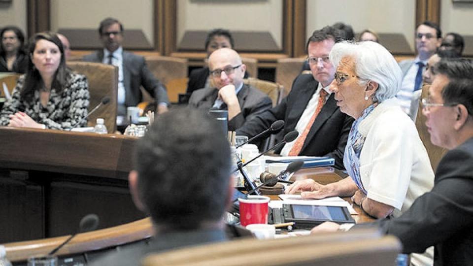 Lagarde expuso ayer sobre el caso argentino en la reunión de directorio del organismo bilateral.