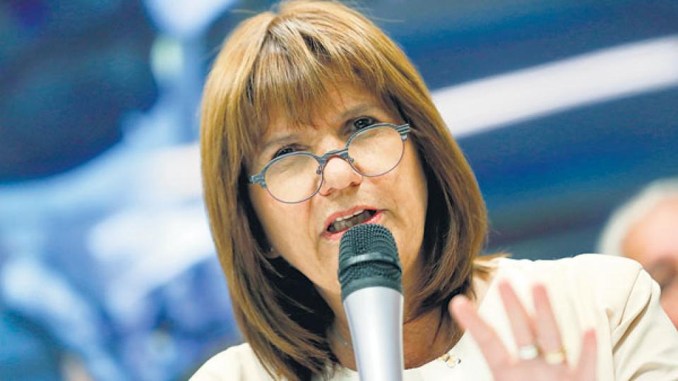 La ministra de Seguridad, Patricia Bullrich, quiere darles más protagonismo a las Fuerzas Armadas.