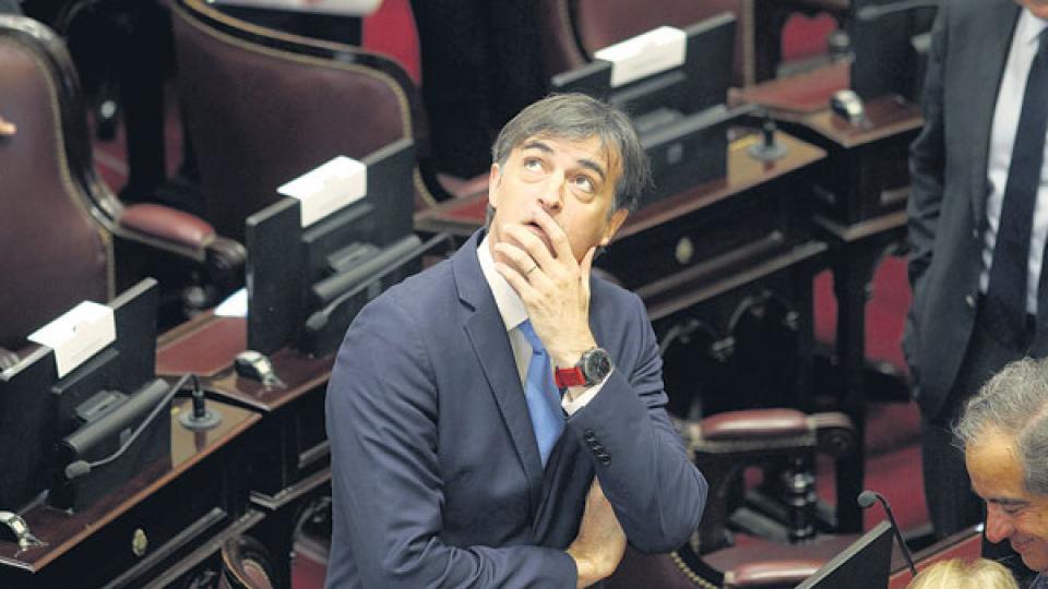 Al estilo Macri, el senador Esteban Bullrich dijo que no había alternativas al tarifazo.