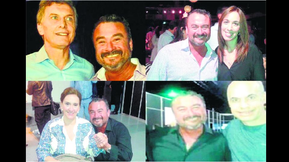 """El relacionista público Raúl """"El Peque"""" García, hombre cercano a la dirigencia de Cambiemos."""