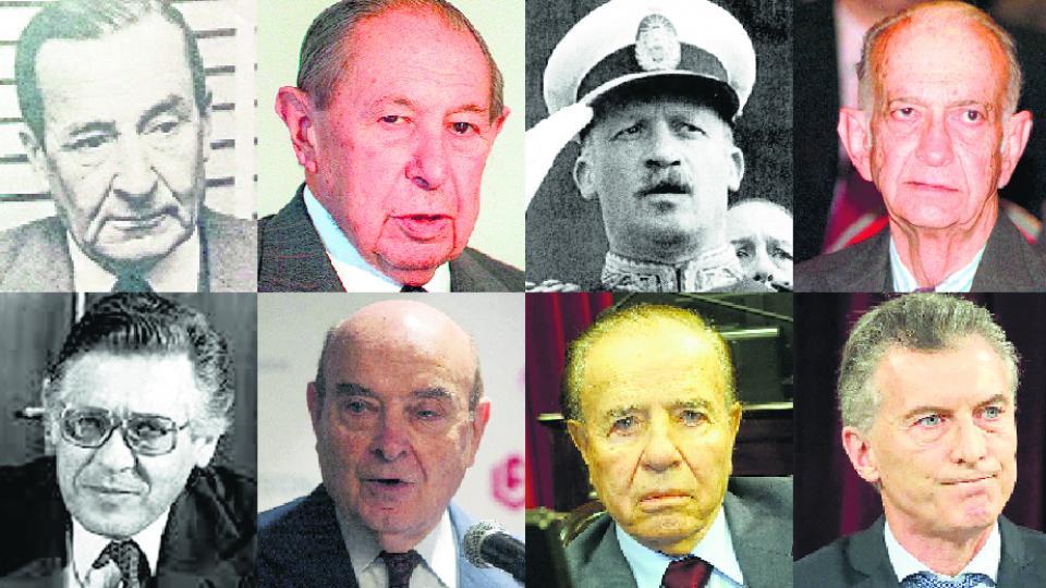 Aramburu, Alsogaray, Onganía, Martínez de Hoz, Sourrouille, Cavallo, Menem y Macri firmaron acuerdos con el Fondo Monetario Internacional.