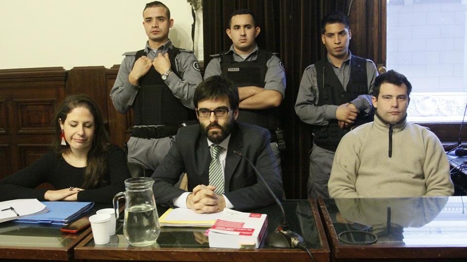 Gabriel David Marino (25) fue condenado a prisión perpetua.