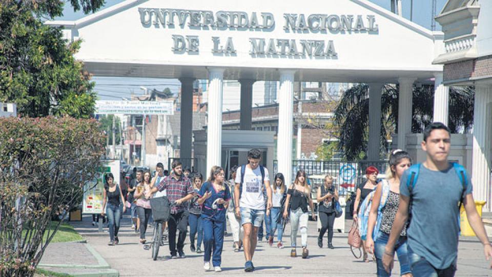 En la Unlam,el 94 por ciento de los alumnos son la primera generación de universitarios en sus familias.