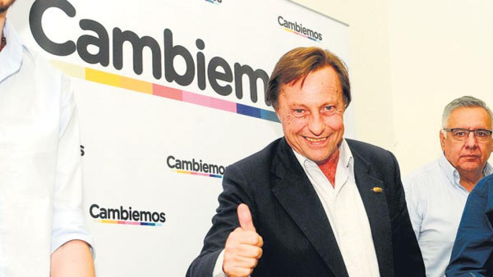 El radical Sergio Varisco recibió del gobierno nacional un importante apoyo para su campaña a}la intendencia en 2015.