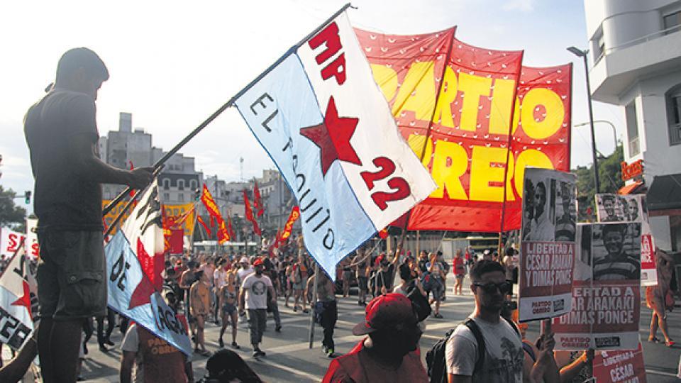 Los partidos de izquierda y gremios clasistas realizarán cortes de ruta y un acto en el Obelisco.