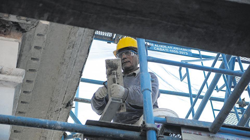 La construcción fue uno de los motores del empleo el año pasado, pero ya comenzó a frenarse.