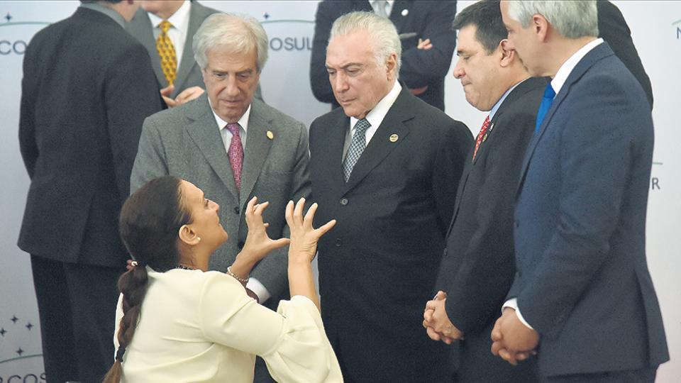 Macri no participó de la Cumbre del Mercosur Sin ningún interés en la región