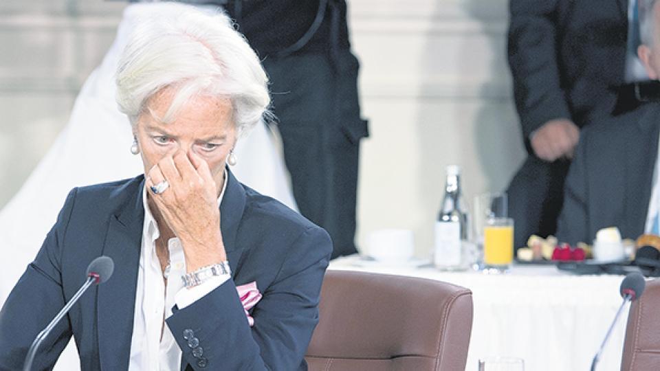 """""""El gobierno del presidente Macri nos dio detalles del programa económico"""", indicó Lagarde."""