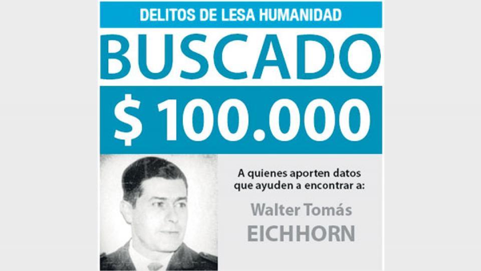 La Justicía ofrecía hasta 100 mil pesos de recompensa por información sobre el paradero del militar.