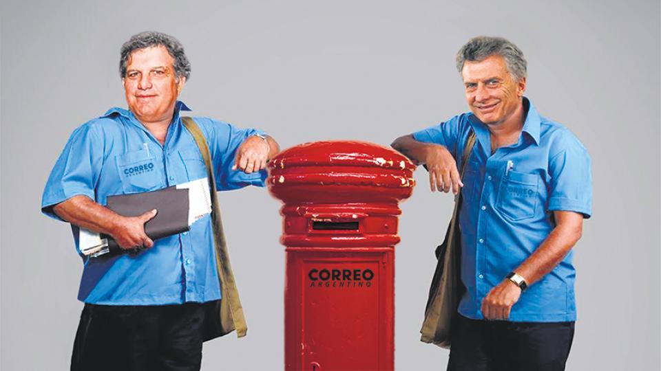 El presidente Mauricio Macri y su hermano Gianfranco.