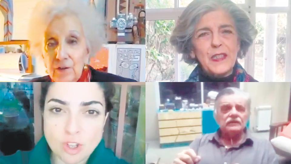 Carlotto, Banegas, Barrientos y González llamaron a participar.