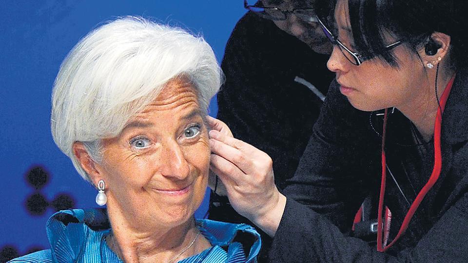 """""""Existe un potencial para el deterioro de los balances bancarios"""", advierte el equipo de Christine Lagarde."""