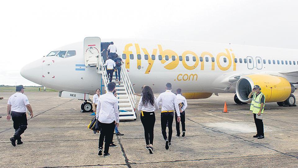 Hasta que se garantice la seguridad de los pasajeros Piden la suspensión de todos los vuelos de Flybondi