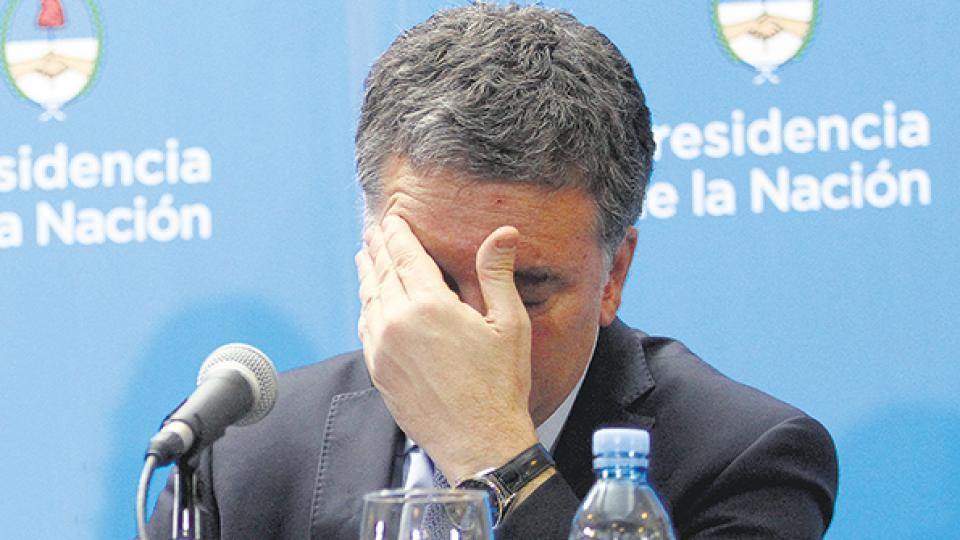 Nicolás Dujovne, ministro de Hacienda y Finanzas, transmitió una visión optimista del resultado del canje de Lebac por Letes.