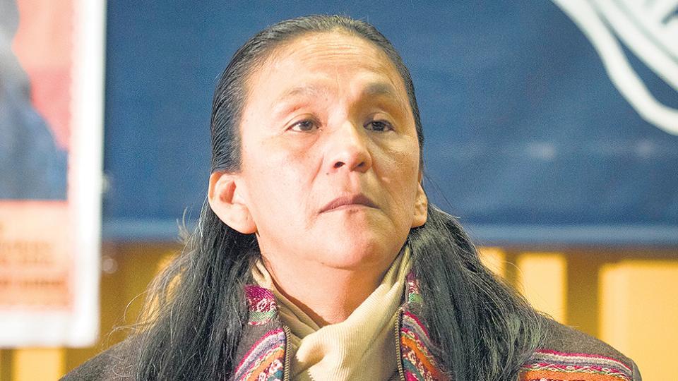 El episodio que sufrió Sala ocurrió ayer al mediodía en el lugar en donde ella cumple detención domiciliaria.