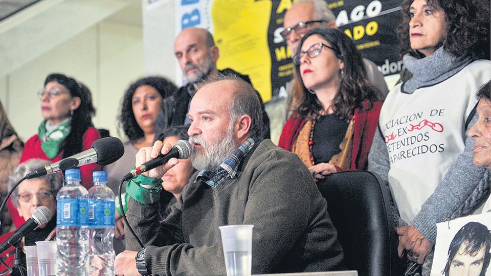"""""""Tuvimos que batallar con que primero el Estado lo desconoció, lo negó, durante 78 días"""", dijo Sergio Maldonado."""