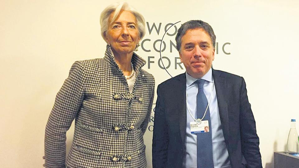 Lagarde y Dujovne, firmantes del cuestionado acuerdo con el FMI.