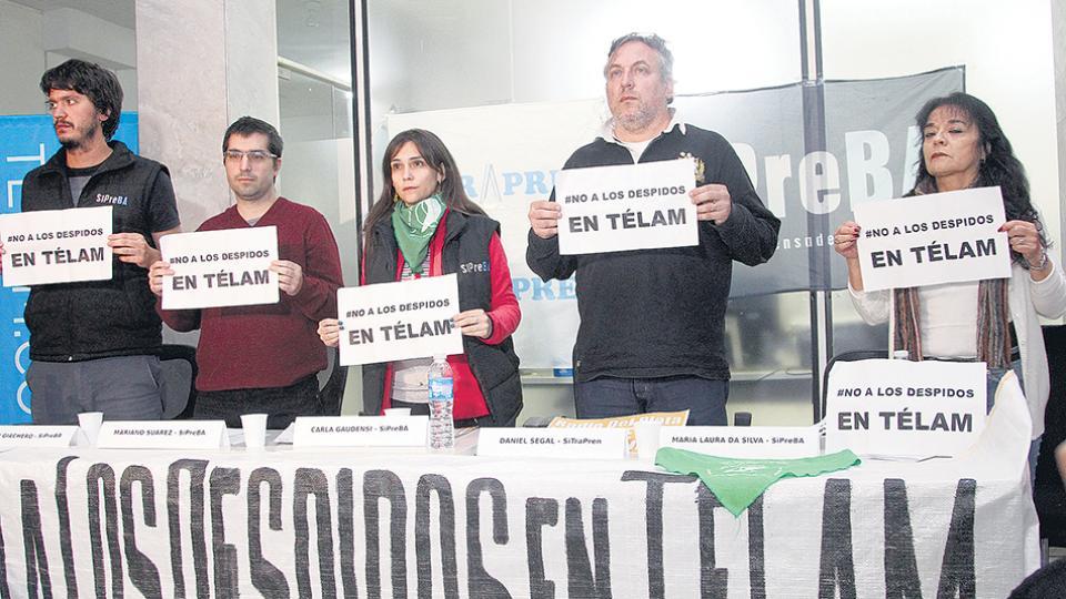 Los trabajadores de Télam buscarán participar hoy de la interpelación a Hernán Lombardi.
