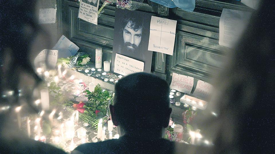 La represión de Gendarmería fue el 1º de agosto y el cuerpo de Maldonado fue hallado 78 días después.