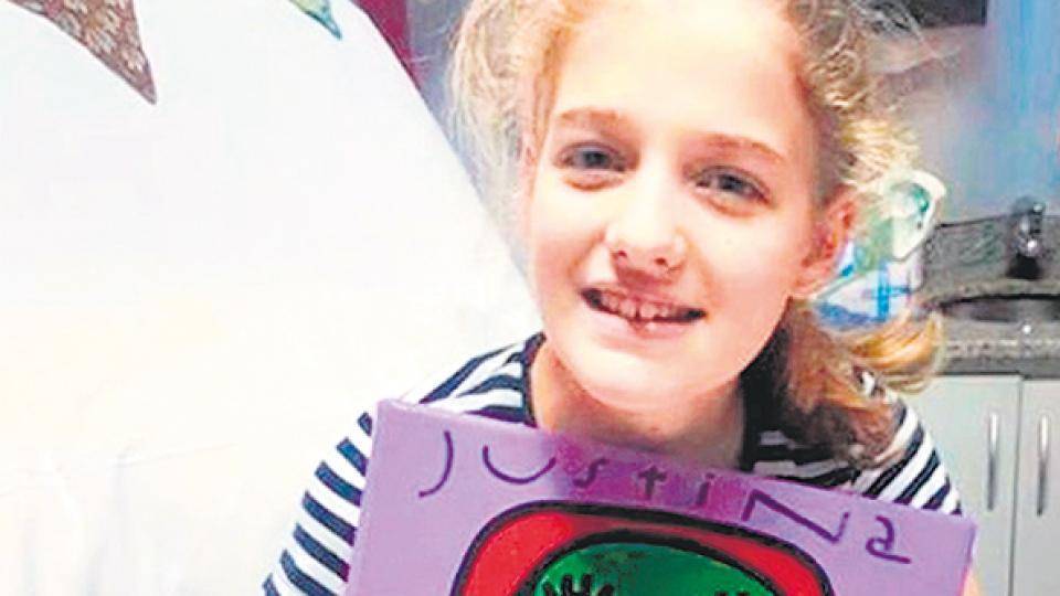 Justina Lo Cane tenía 12 años y murió tras esperar durante tres años un trasplante de corazón.