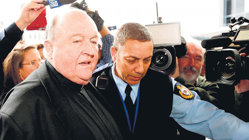 El obispo de la ciudad de Adelaida, Philip Wilson, fue condenado por encubrir abusos sexuales.