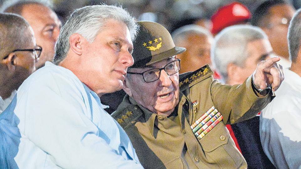 Miguel Díaz Canel sucedió en la presidencia de Cuba a Raúl, el menor de los Castro.