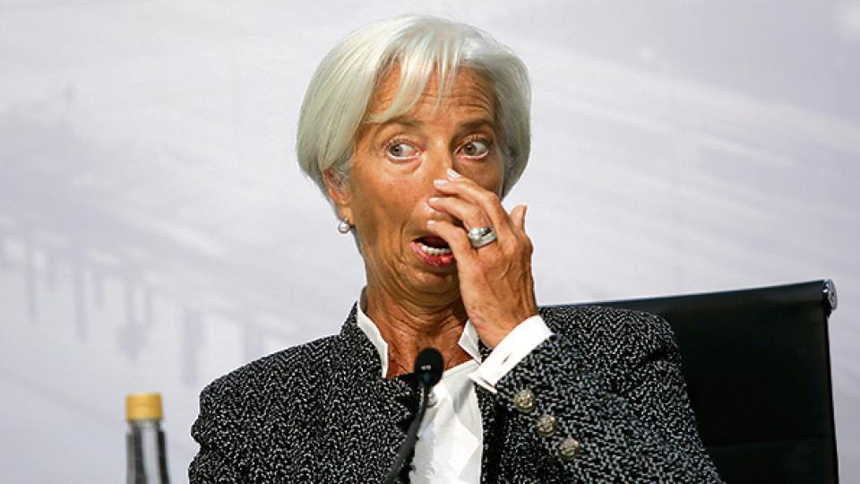 Christine Lagarde, directora gerente del FMI, pieza clave en el entramado político con el gobierno argentino.