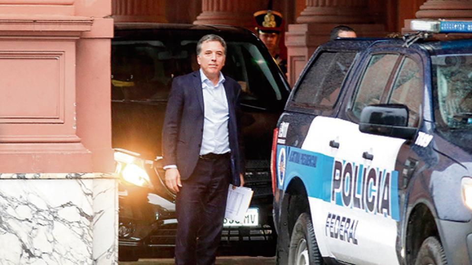 El ministro de Hacienda y Finanzas, Nicolás Dujovne.