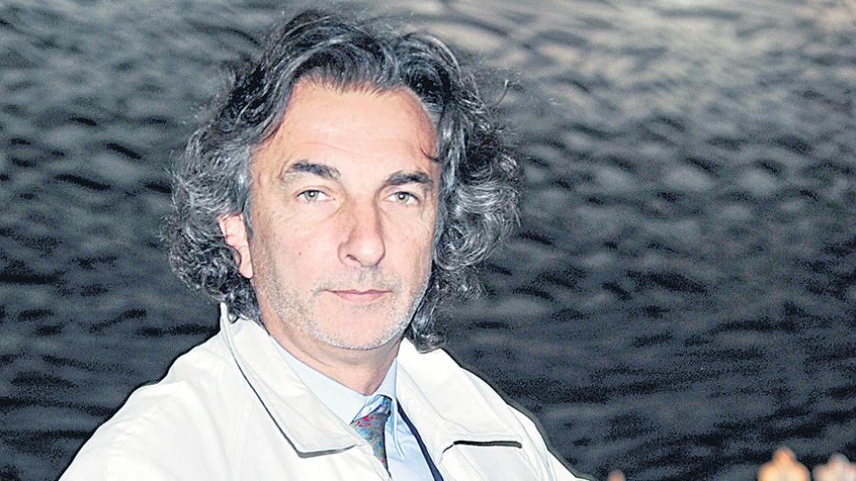 El ex titular de Iecsa Angelo Calcaterra dio su versión en Tribunales y se retiró tranquilamente a su casa.