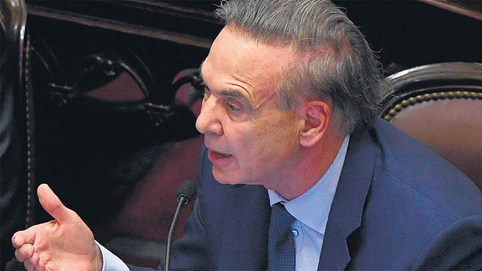 El senador Miguel Pichetto, dispuesto a habilitar el allanamiento.