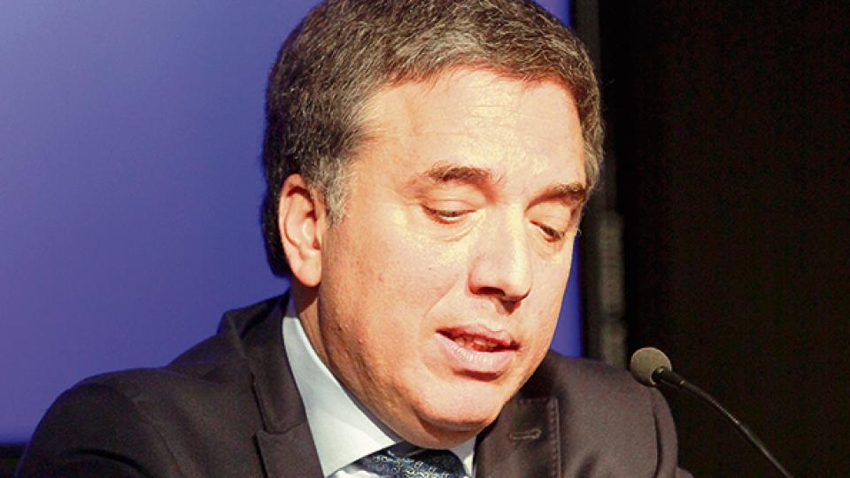 Dujovne, ministro de Hacienda.