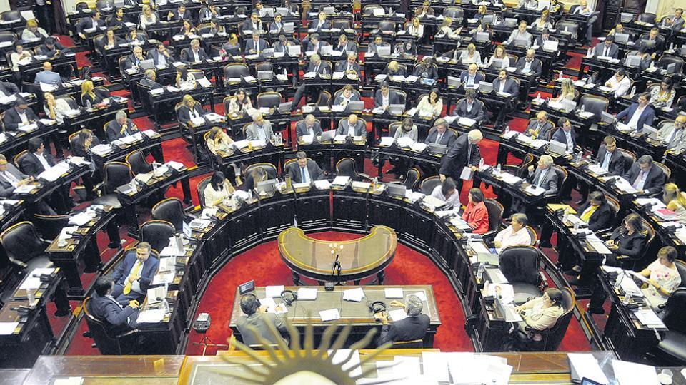El recinto de la Cámara de Diputados será hoy escenario de la discusión entre oficialistas y opositores.