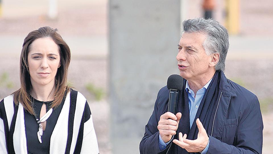 Tanto Macri como la gobernadora Vidal sufren una pérdida de apoyo popular.