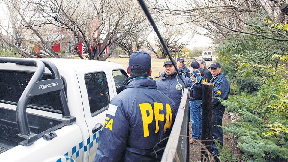 Los allanamientos en inmuebles de CFK terminaron ayer a la tarde en El Calafate.