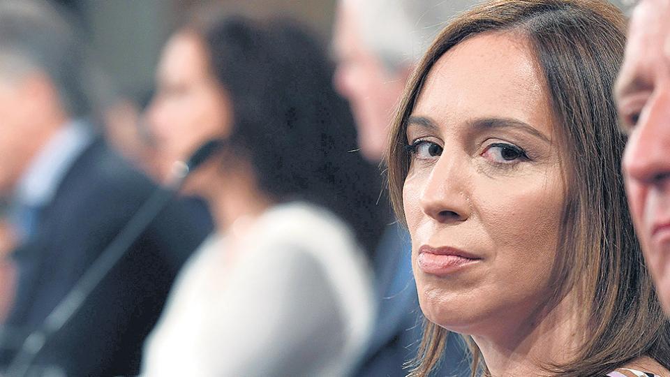 """La gobernadora bonaerense, María Eugenia Vidal, había dicho que se trataba de """"una denuncia del kirchnerismo""""."""