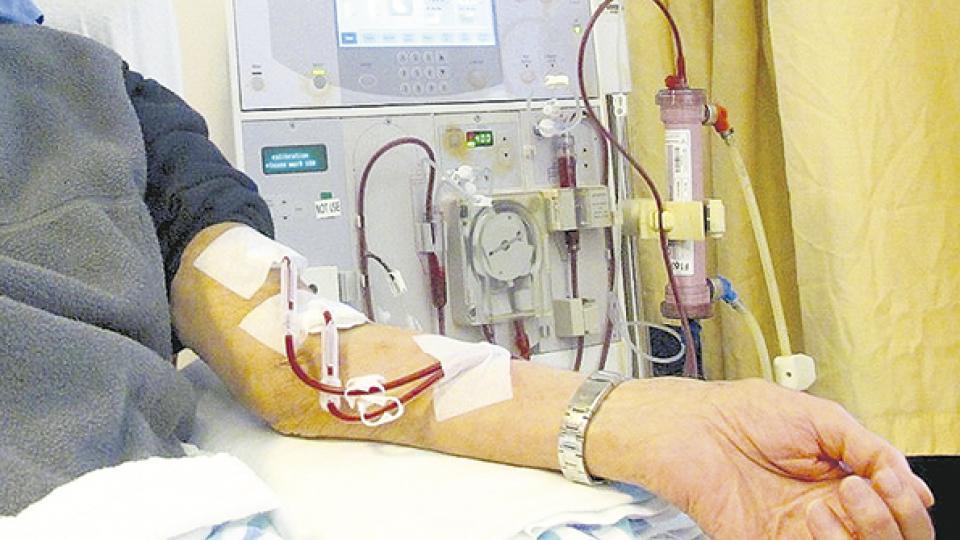 Treinta mil pacientes en todo el país dependen de la diálisis para sobrevivir.