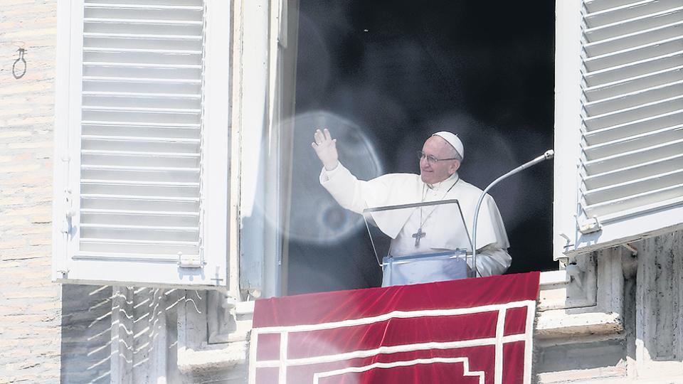 """El Papa invitó a los católicos a que """"pidamos perdón por los pecados propios y ajenos""""."""
