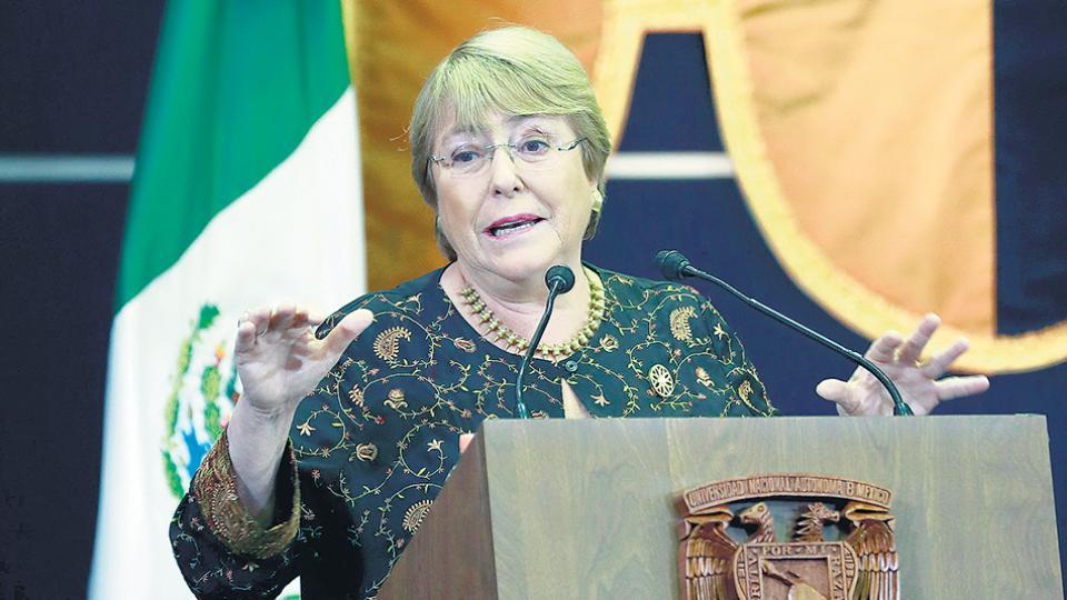 Bachelet habría aceptado asumir el cargo de nueva jefa de derechos humanos de la organización.