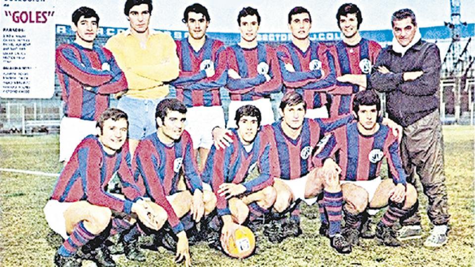 Los Matadores realizaron una campaña formidable en el Metropolitano del 68.