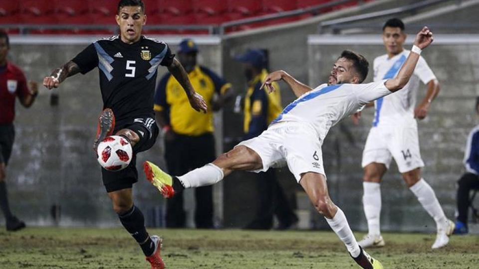Argentina goleó a Guatemala en un amistoso