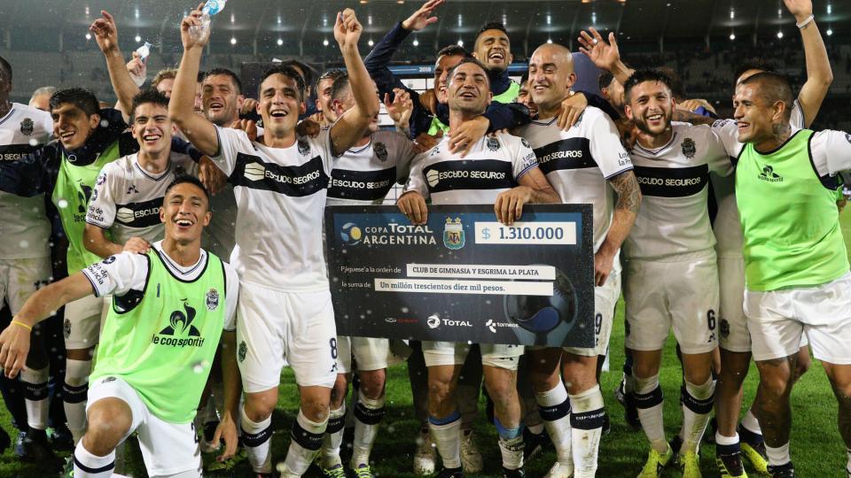 Tras eliminar a Boca, todo Gimnasia festeja su avance en la Copa Argentina.