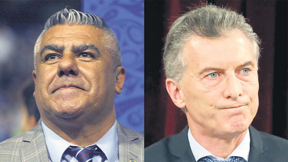 Claudio Tapia y Mauricio Macri, dos de los nombres que están tratando el ingreso de las SAD al fútbol.