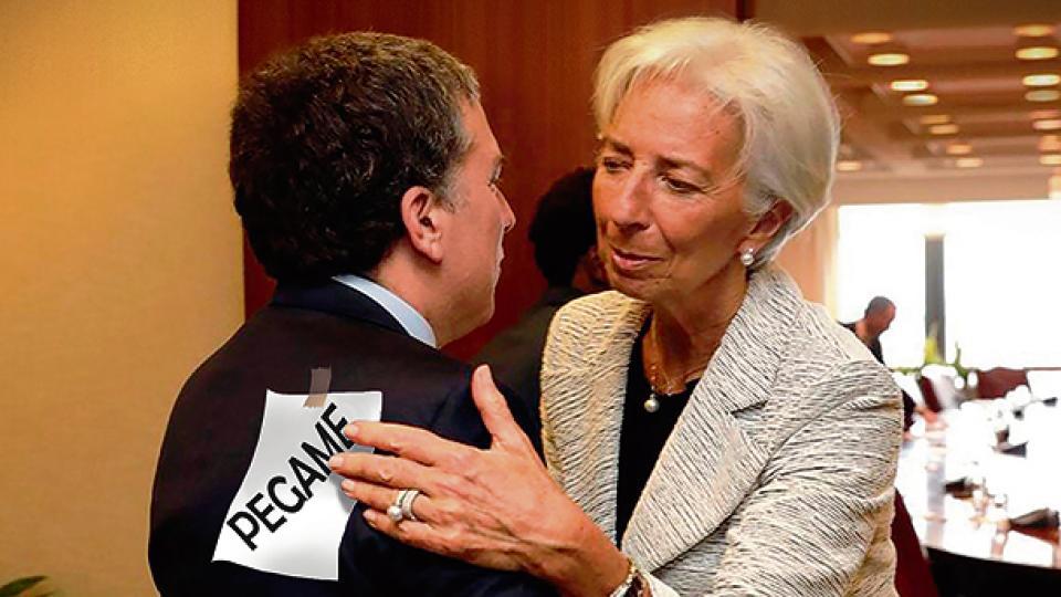 Nicolás Dujovne presentará el presupuesto del ajuste el lunes en el Congreso. El FMI (en la foto, Lagarde) supervisó y aprobó cada recorte.