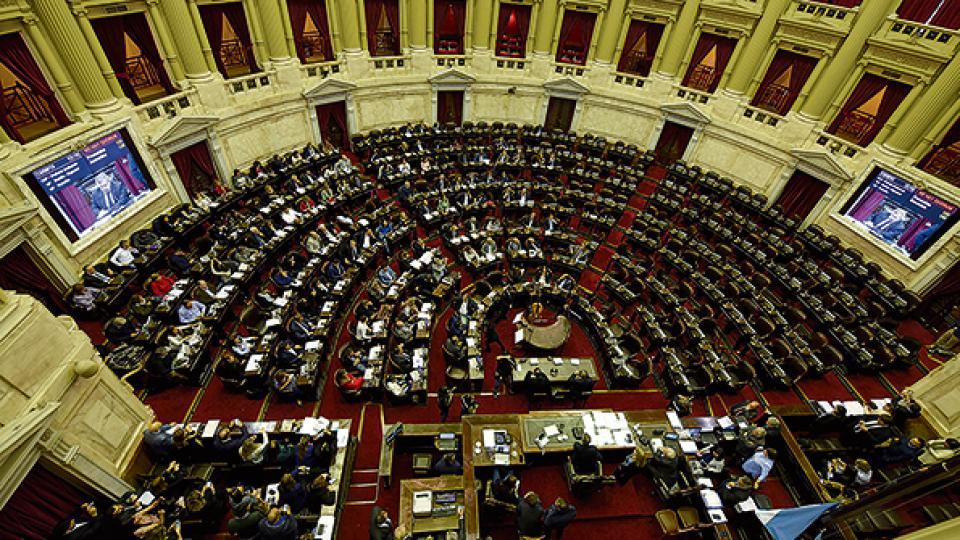 A los bloques de la oposición les faltaron siete diputados para conseguir el quórum.